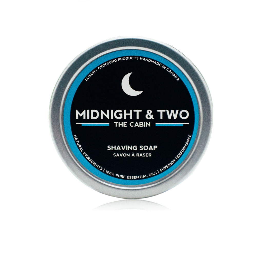 Midnight & Two Shaving Soap, The Cabin Shaving Soap Midnight & Two