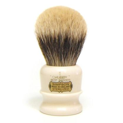 Simpsons Chubby 1 Best Badger Shaving Brush - Fendrihan Canada - 2