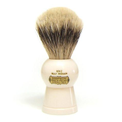Simpsons Keyhole KH2 Best Badger Shaving Brush - Fendrihan Canada