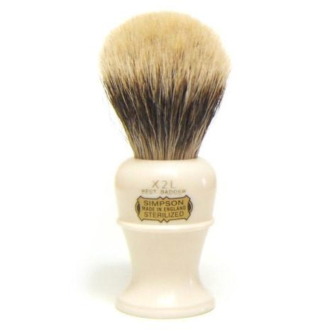 Simpsons The Colonel X2L Best Badger Shaving Brush - Fendrihan Canada