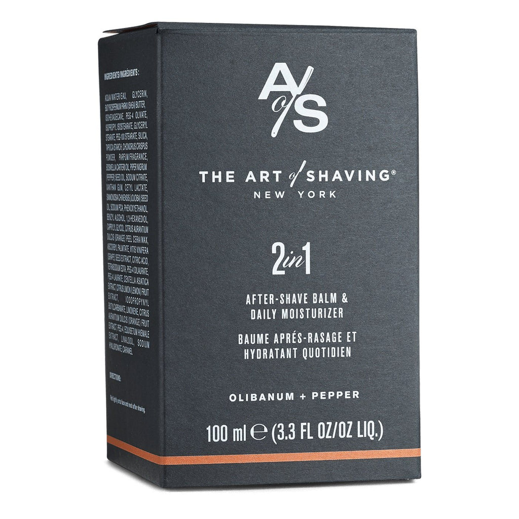 The Art of Shaving 2 in 1 After Shave Balm & Daily Moisturizer, Limited Edition Aftershave The Art of Shaving