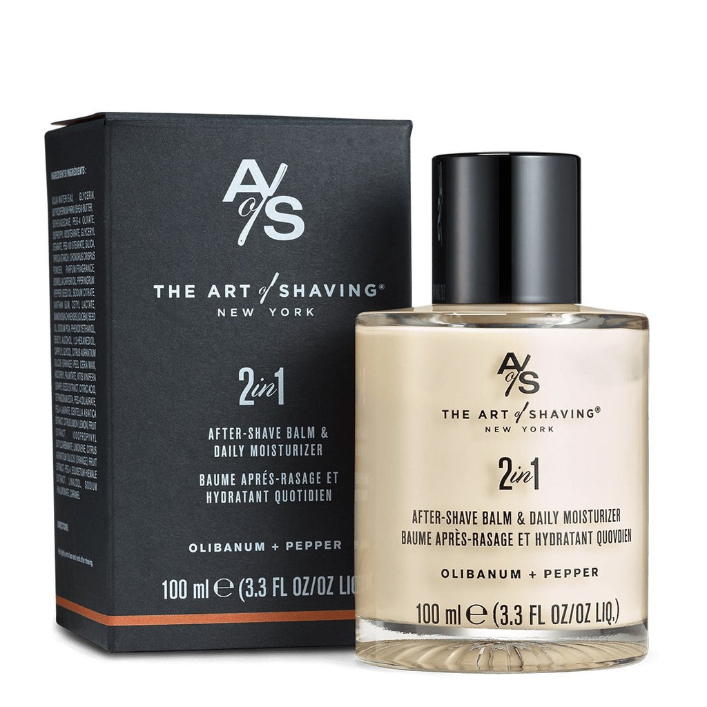 The Art of Shaving 2 in 1 After Shave Balm & Daily Moisturizer, Limited Edition Aftershave The Art of Shaving Olibanum Pepper