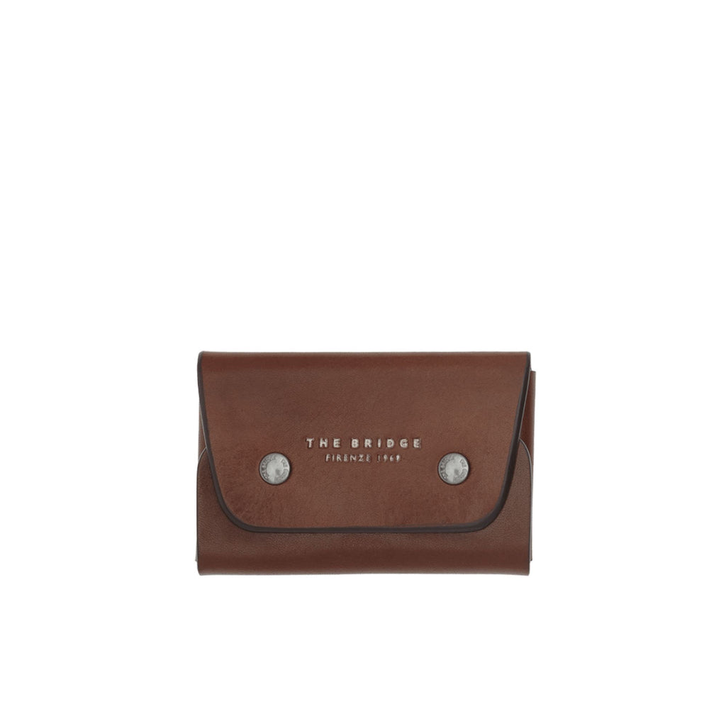 The Bridge Kallio Credit Card Holder, Brown Leather Wallet The Bridge