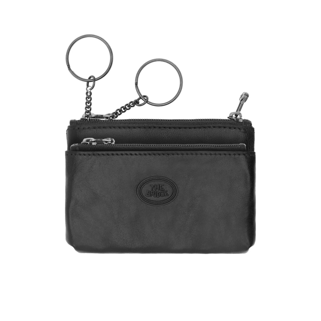 The Bridge Story Uomo Double Ring Key Case Key Case The Bridge Black