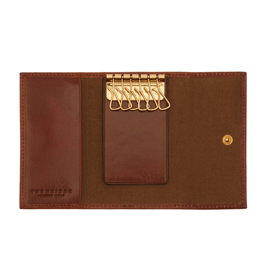 The Bridge Story Uomo Key Case Key Case The Bridge Brown