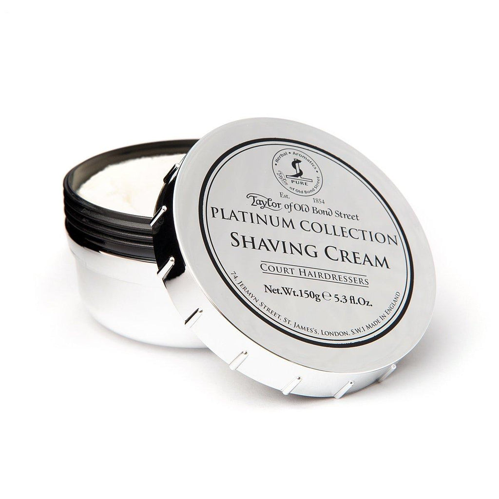 Taylor of Old Bond Street Platinum Collection Shaving Cream Bowl Shaving Cream Taylor of Old Bond Street