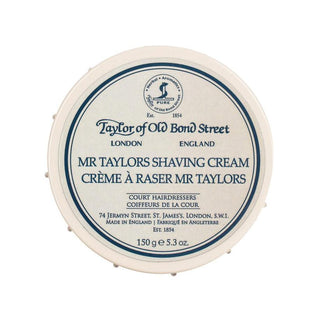 Taylor of Old Bond Street Shaving Cream Bowl, Mr Taylors Shaving Cream Taylor of Old Bond Street