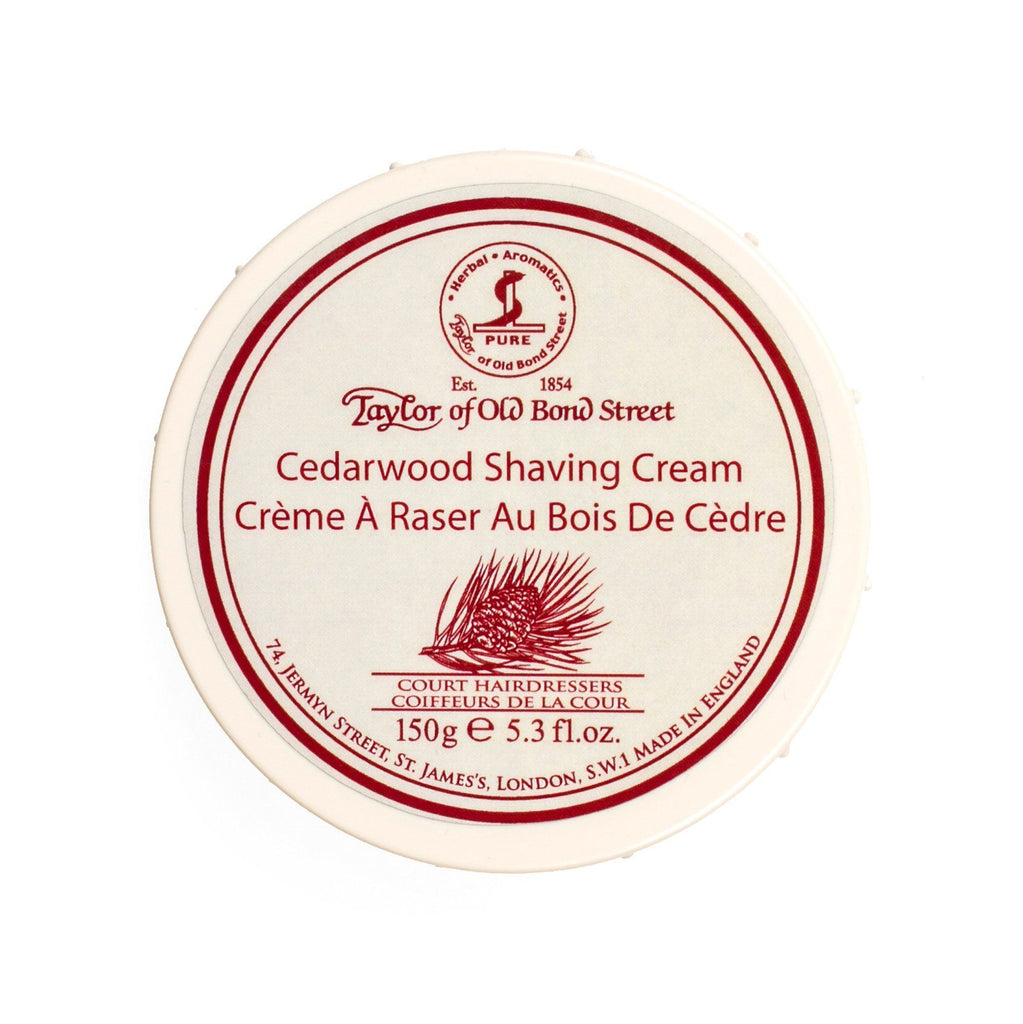 Taylor of Old Bond Street Shaving Cream Bowl, Cedarwood Shaving Cream Taylor of Old Bond Street