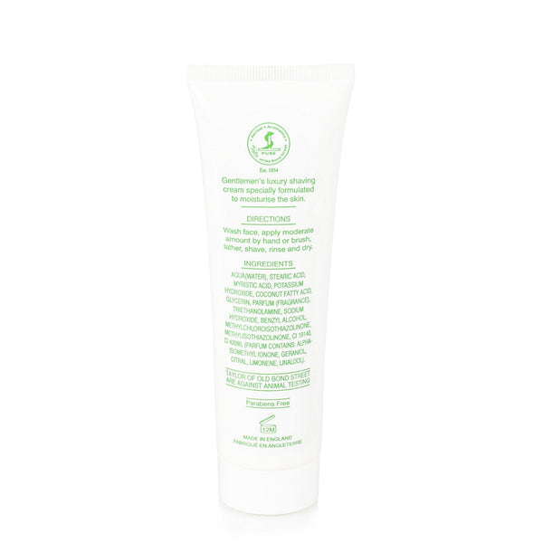 Taylor of Old Bond Street Classic Shaving Cream Travel Tube, Lemon and Lime - Fendrihan Canada - 5