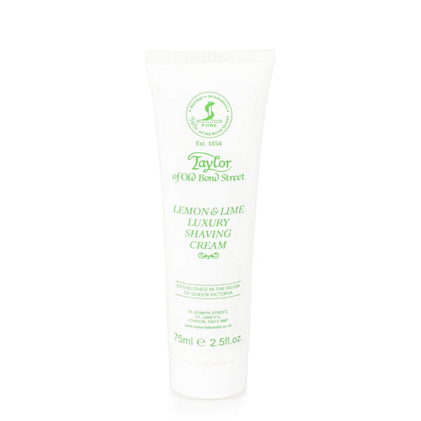 Taylor of Old Bond Street Classic Shaving Cream Travel Tube, Lemon and Lime - Fendrihan Canada - 4