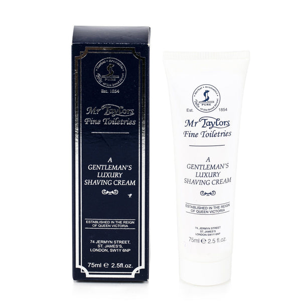 Taylor of Old Bond Street Classic Shaving Cream Travel Tube, Mr Taylors - Fendrihan Canada - 1