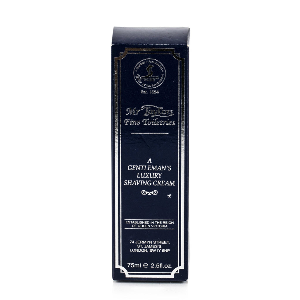 Taylor of Old Bond Street Classic Shaving Cream Travel Tube, Mr Taylors Shaving Cream Taylor of Old Bond Street