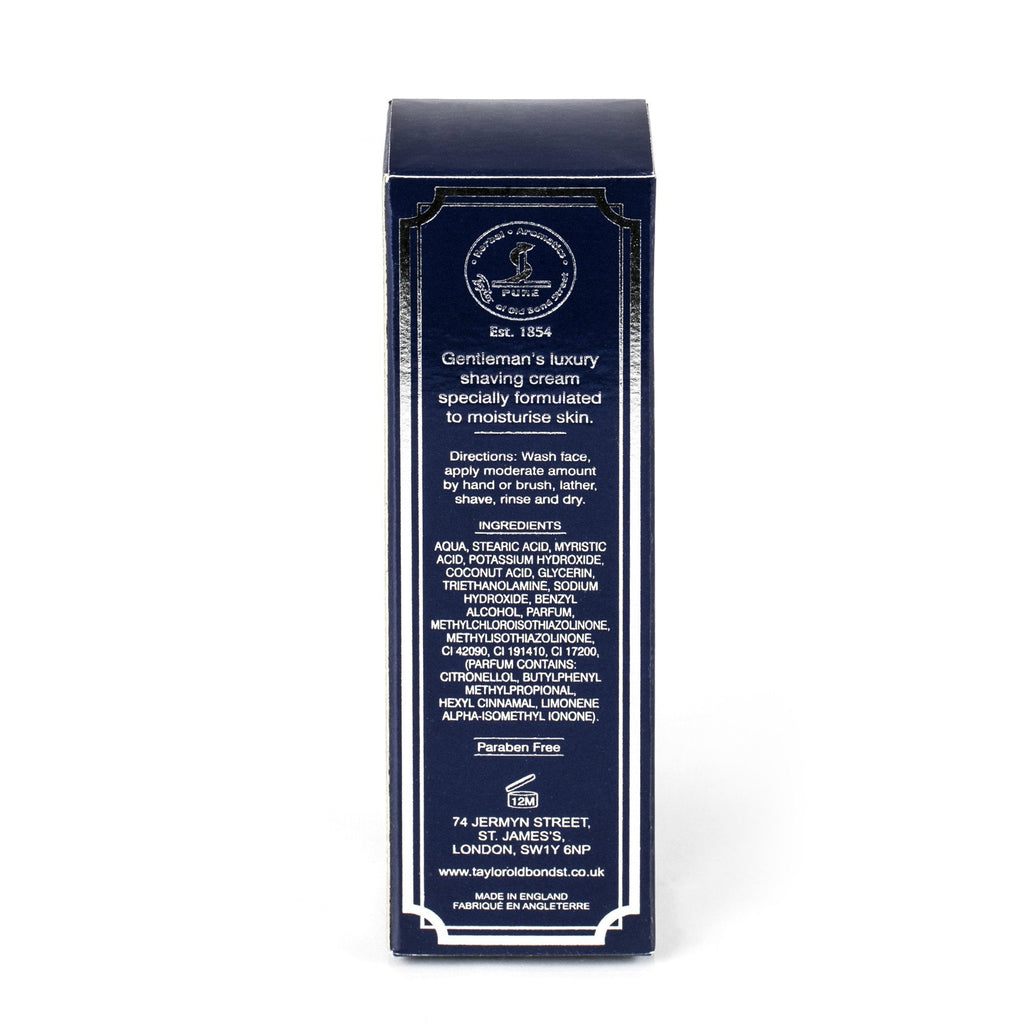 Taylor of Old Bond Street Classic Shaving Cream Travel Tube, Mr Taylors - Fendrihan Canada - 3