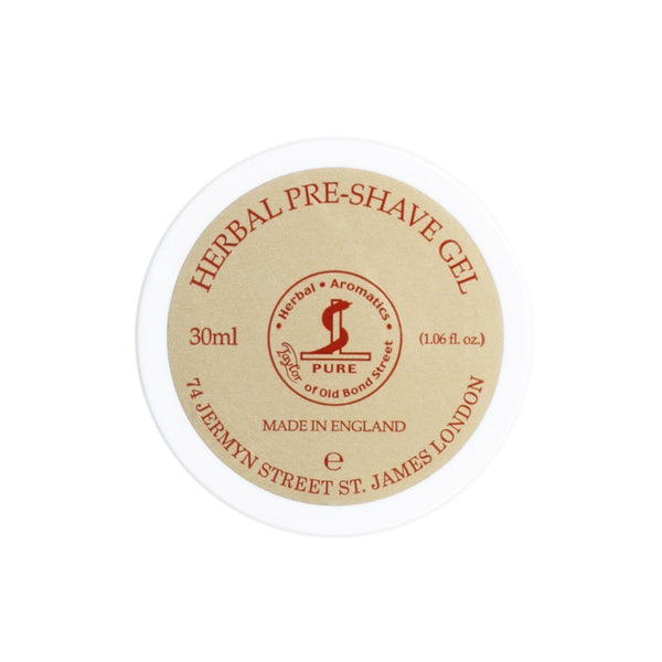 Taylor of Old Bond Street Herbal Pre-Shave Gel - Fendrihan Canada - 1