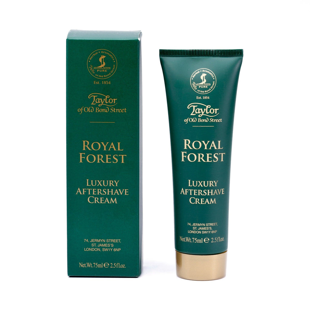 Taylor of Old Bond Street Royal Forest Luxury Aftershave Cream Aftershave Taylor of Old Bond Street