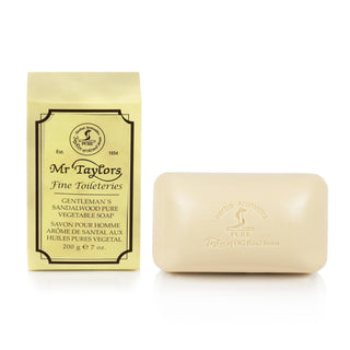 Taylor of Old Bond Street Gentleman's Pure Vegetable Soap, Sandalwood Body Soap Taylor of Old Bond Street