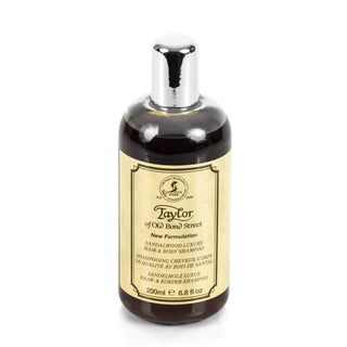 Taylor of Old Bond Street Sandalwood Hair & Body Shampoo Shampoo Taylor of Old Bond Street 6.8 fl oz (200 ml)