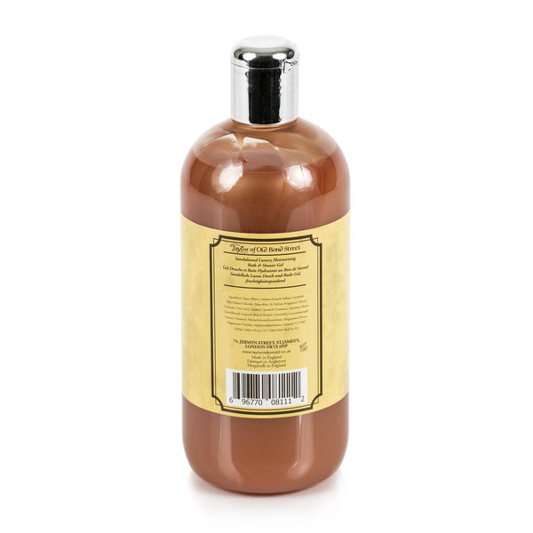 Taylor of Old Bond Street Sandalwood Moisturizing Bath and Shower Gel, 500 ml - Fendrihan Canada - 2