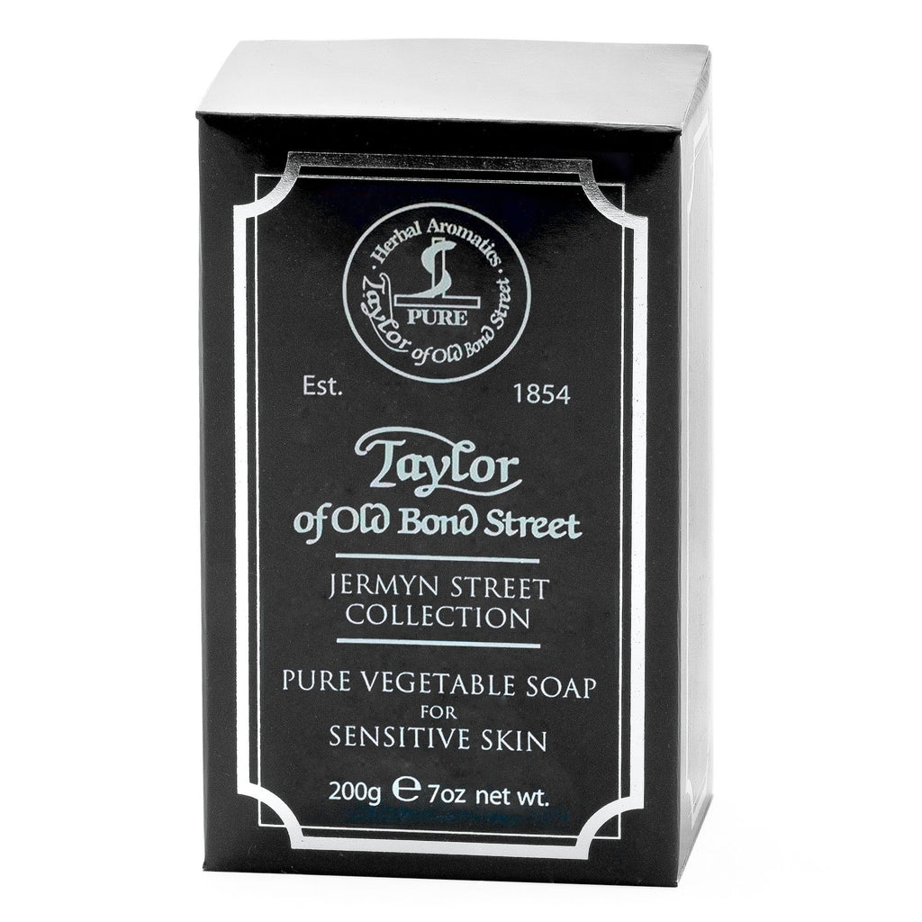 Taylor of Old Bond Street Gentleman's Pure Vegetable Soap, Jermyn Street Body Soap Taylor of Old Bond Street