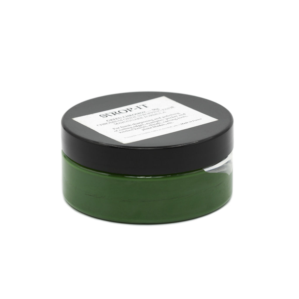 Chromox, Green Chromium Oxide Finishing Paste by Thiers Issard Strop Paste Thiers Issard