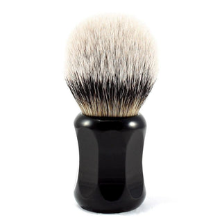 H.L. Thater 4125 Series Silvertip Shaving Brush with Black Handle, Size 4 Badger Bristles Shaving Brush Heinrich L. Thater