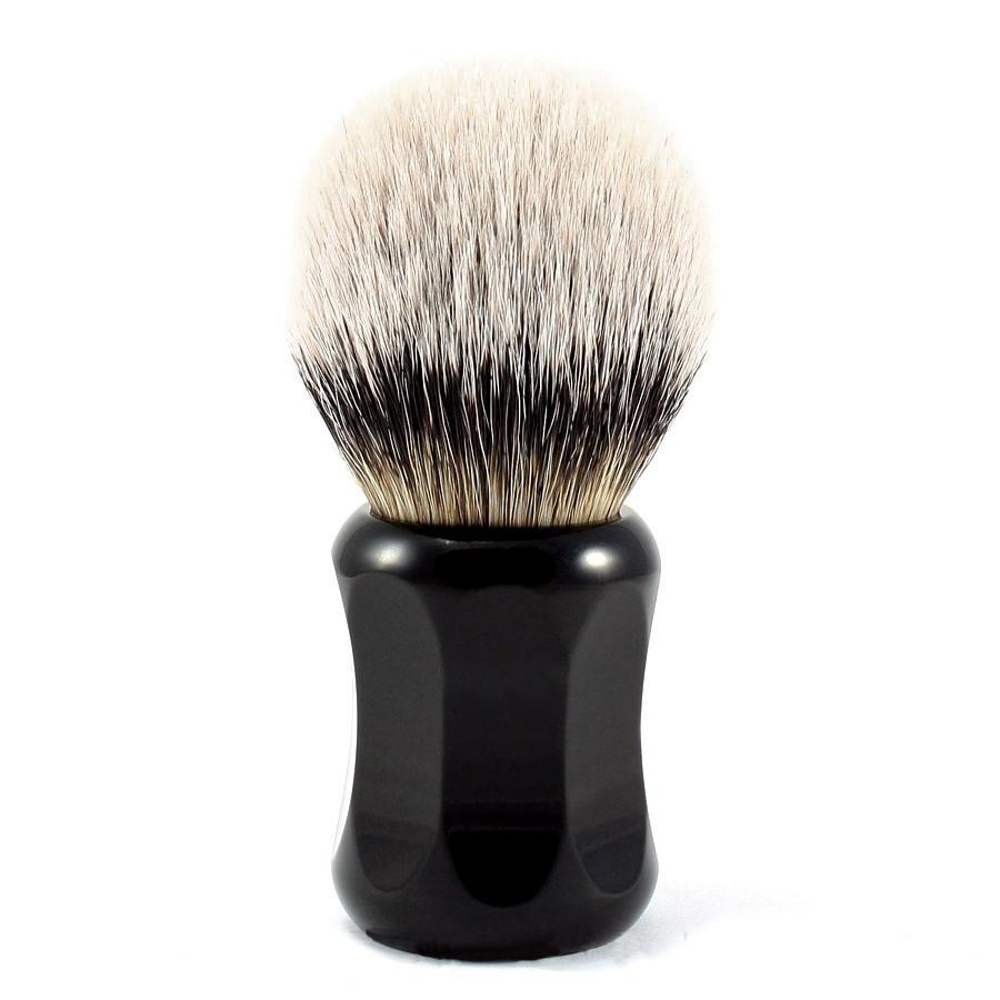 H.L. Thater 4125 Series Silvertip Shaving Brush with Black Handle, Size 4 - Fendrihan Canada