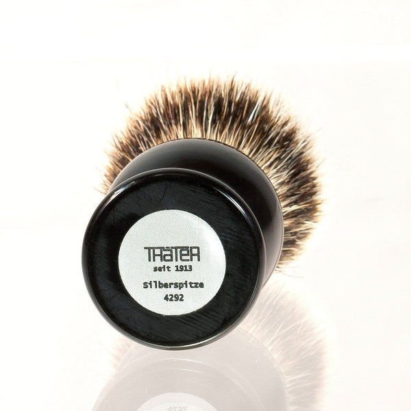 H.L. Thater 4292 Series Silvertip Shaving Brush with Black Handle, Size 2 - Fendrihan Canada - 2