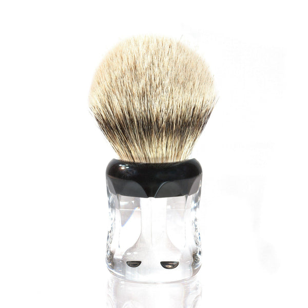 H.L. Thater 49125 Series Silvertip Shaving Brush with Two-Tone Handle, Size 4 - Fendrihan Canada - 1