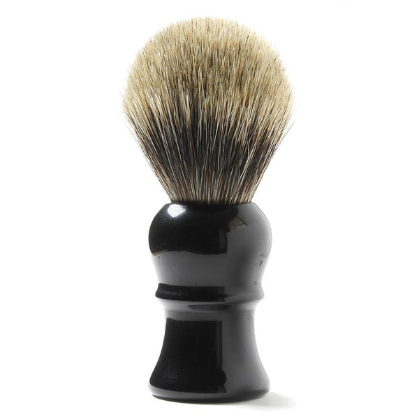 H.L. Thater for Fendrihan Best Badger Shaving Brush with Black Handle, Size 4 - Fendrihan Canada - 1