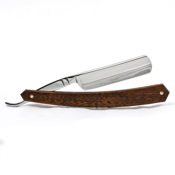 "Thiers Issard Le Canadien Singing Straight Razor 5/8"", Snakewood Handle - Fendrihan Canada - 2"