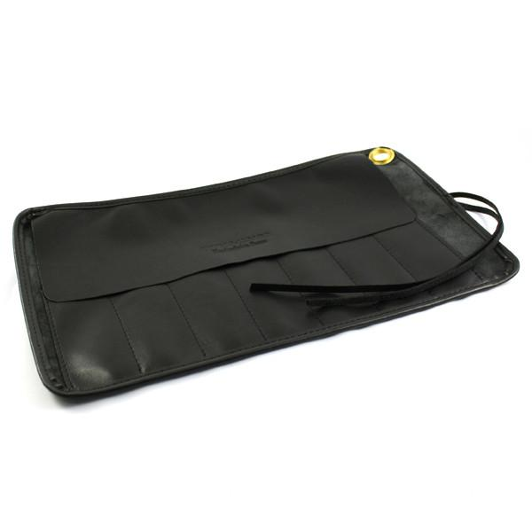 Thiers Issard Seven-Razor Black Leather Carrying Case - Fendrihan Canada - 3