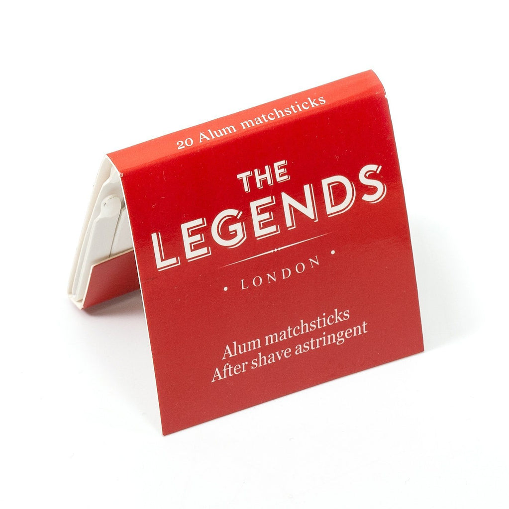 The Legends London Alum Matchsticks, 10 books Aftershave Remedies Other