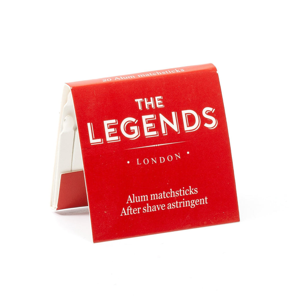 The Legends London Alum Matchsticks, 1 book Aftershave Remedies Other