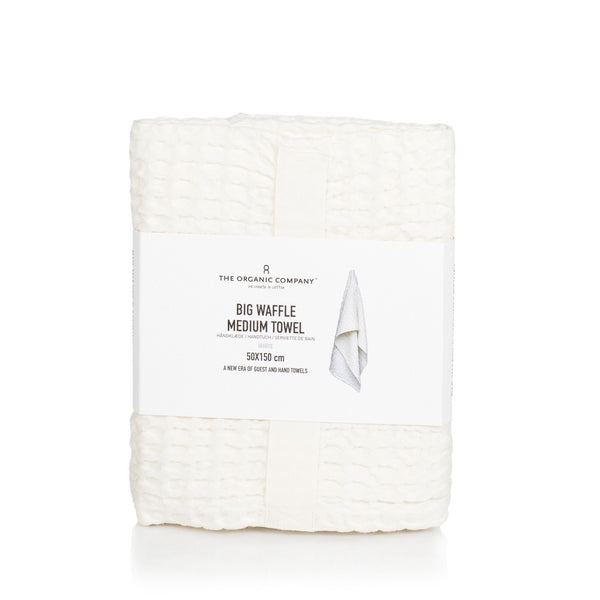 The Organic Company Big Waffle Medium Towel