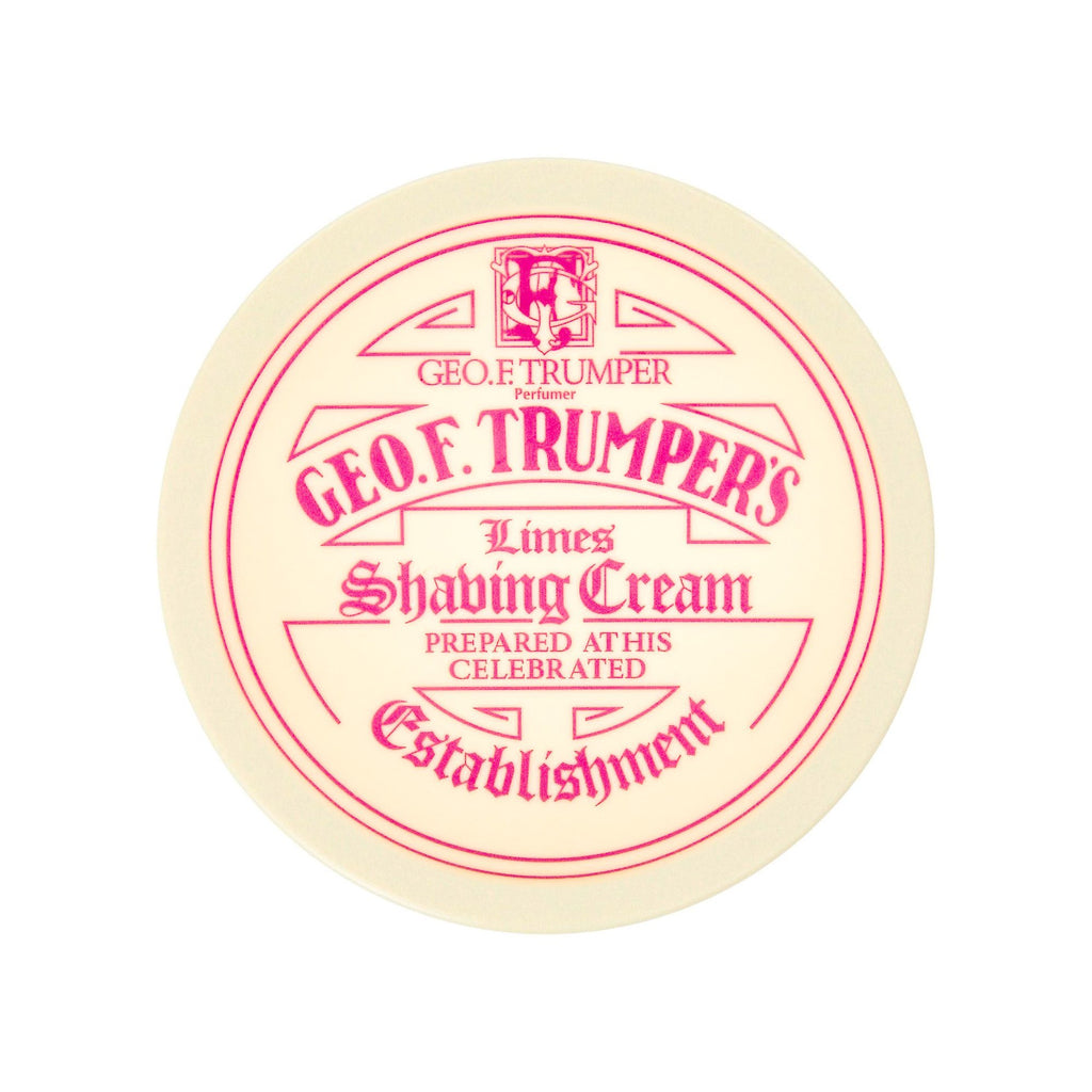 Geo F. Trumper Limes Shaving Cream, Large Tub Shaving Cream Geo F. Trumper