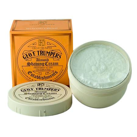Geo. F. Trumper Almond Shaving Cream, Large Tub Shaving Cream Geo F. Trumper