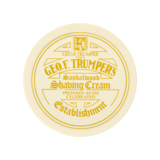 Geo. F. Trumper Sandalwood Shaving Cream, Large Tub Shaving Cream Geo F. Trumper