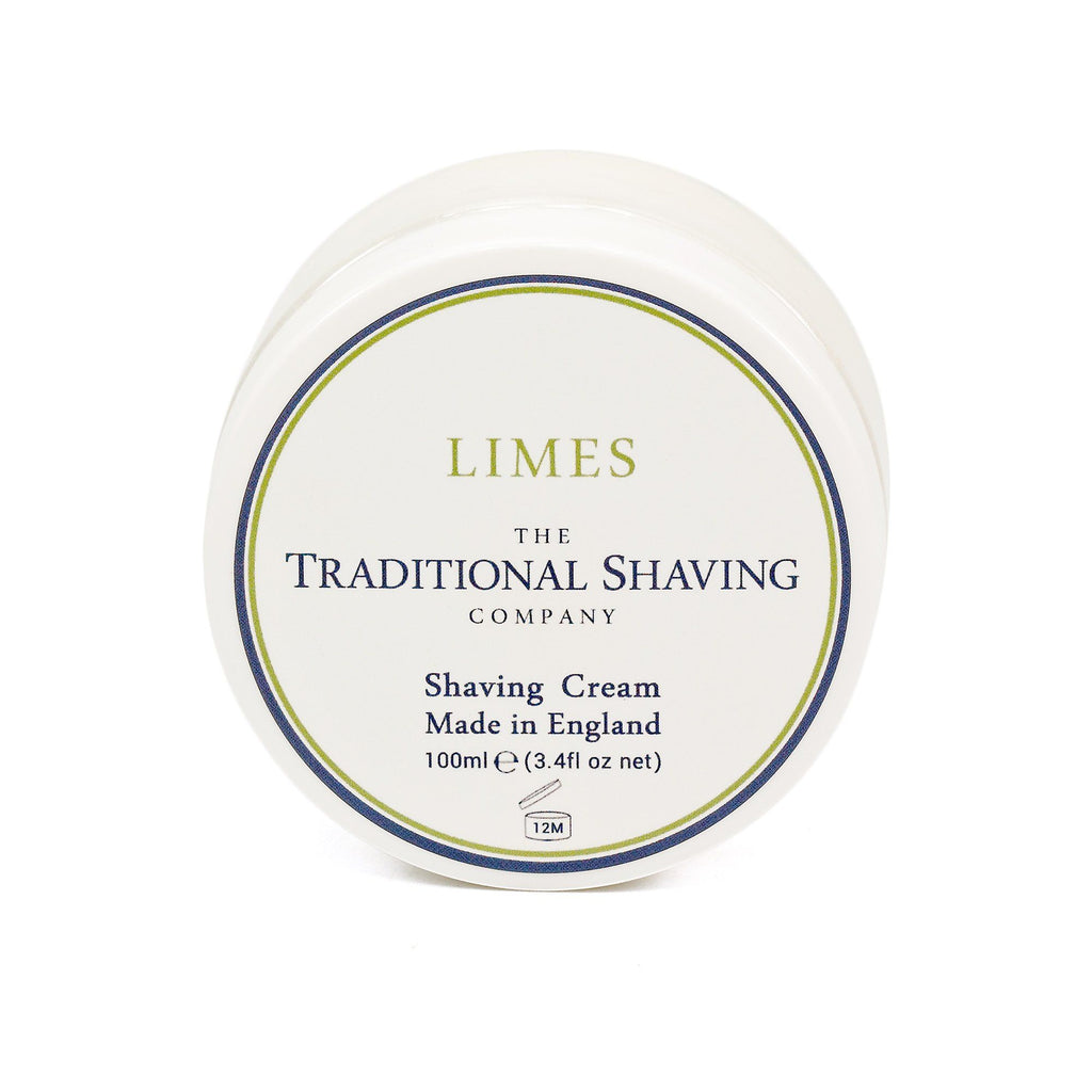 The Traditional Shaving Company Shaving Cream Shaving Cream The Traditional Shaving Company Limes