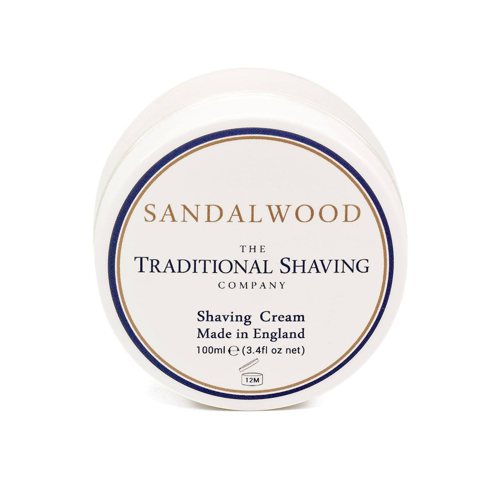 The Traditional Shaving Company Shaving Cream Shaving Cream The Traditional Shaving Company Sandalwood