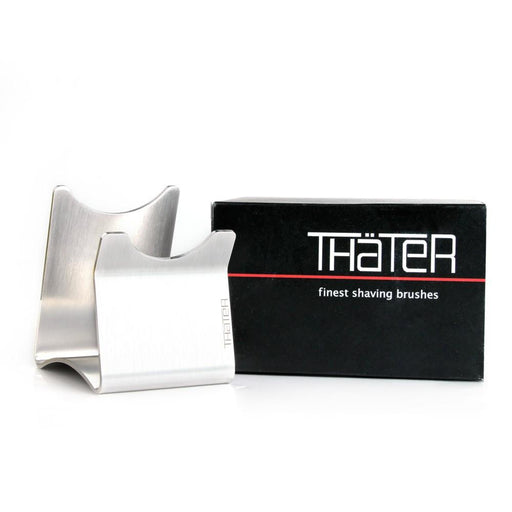 H.L. Thater Stainless Steel Shaving Brush Stand