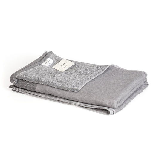 Uchino Zen Charcoal Gauze & Pile Odour Eliminating Bath Towel