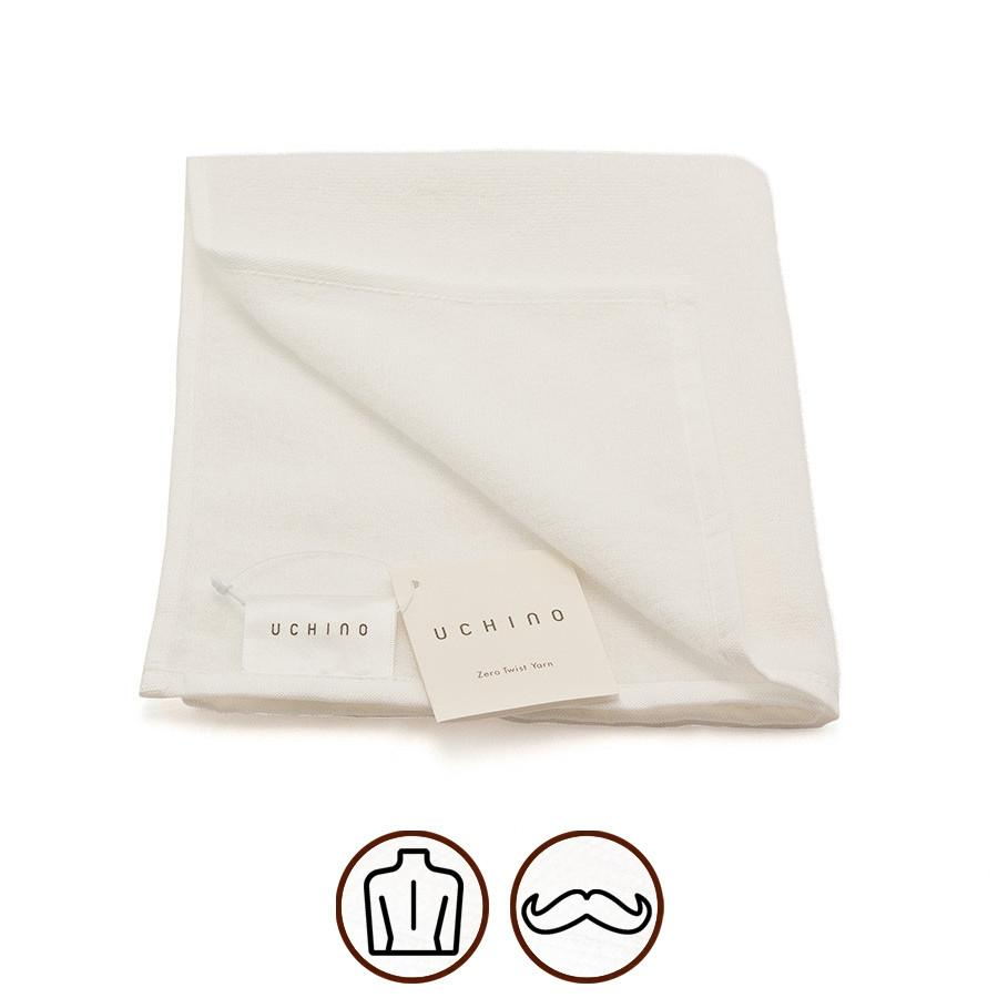 Uchino Airy Feel Super Fine Cotton Towel Towel Uchino Washcloth (34 x 40 cm)