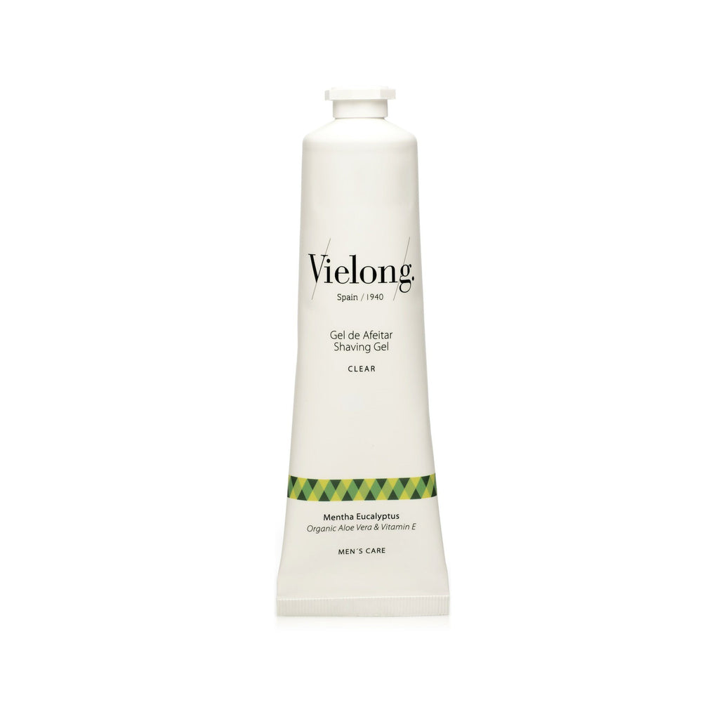 Vie-Long Clear Shaving Gel, Mint Eucalyptus Shaving Cream Vie-Long