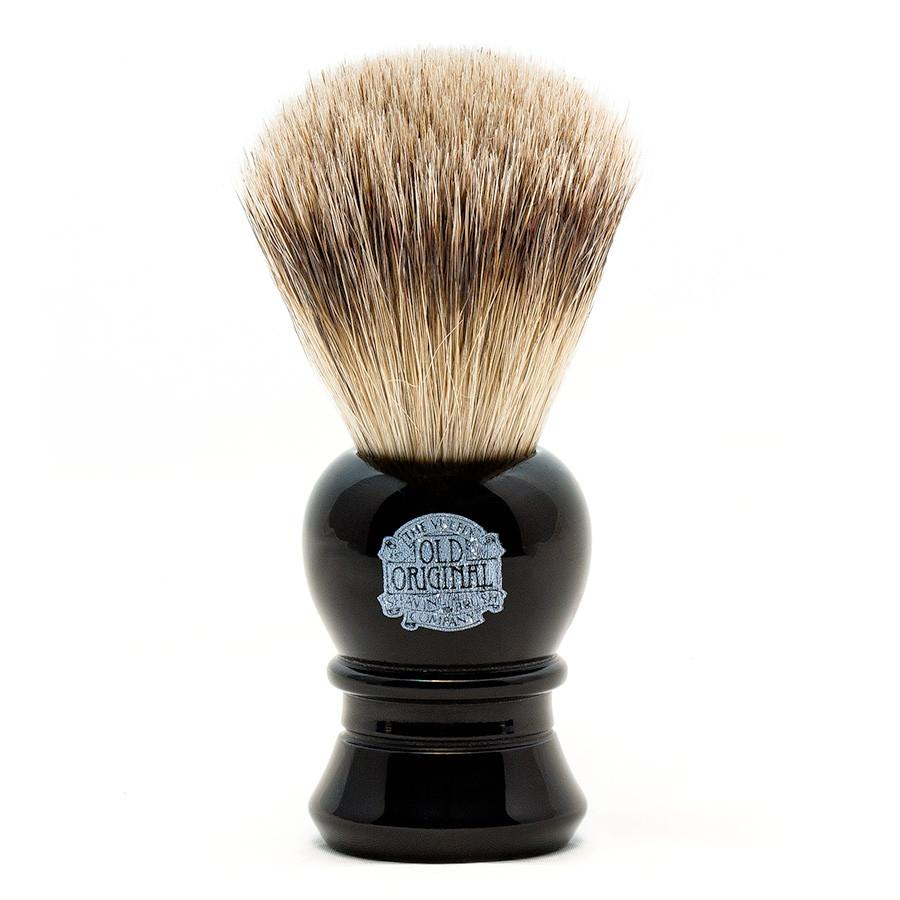 Vulfix 2233 Super Badger Shaving Brush, Black Handle Badger Bristles Shaving Brush Vulfix