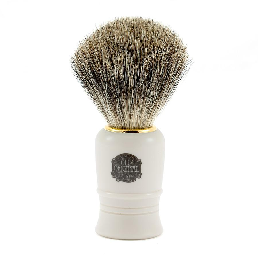 Vulfix 1016 Pure Grey Badger Shaving Brush Badger Bristles Shaving Brush Vulfix