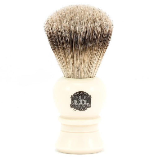 Vulfix 2234 Super Badger Shaving Brush, Faux Ivory handle - Fendrihan Canada - 1