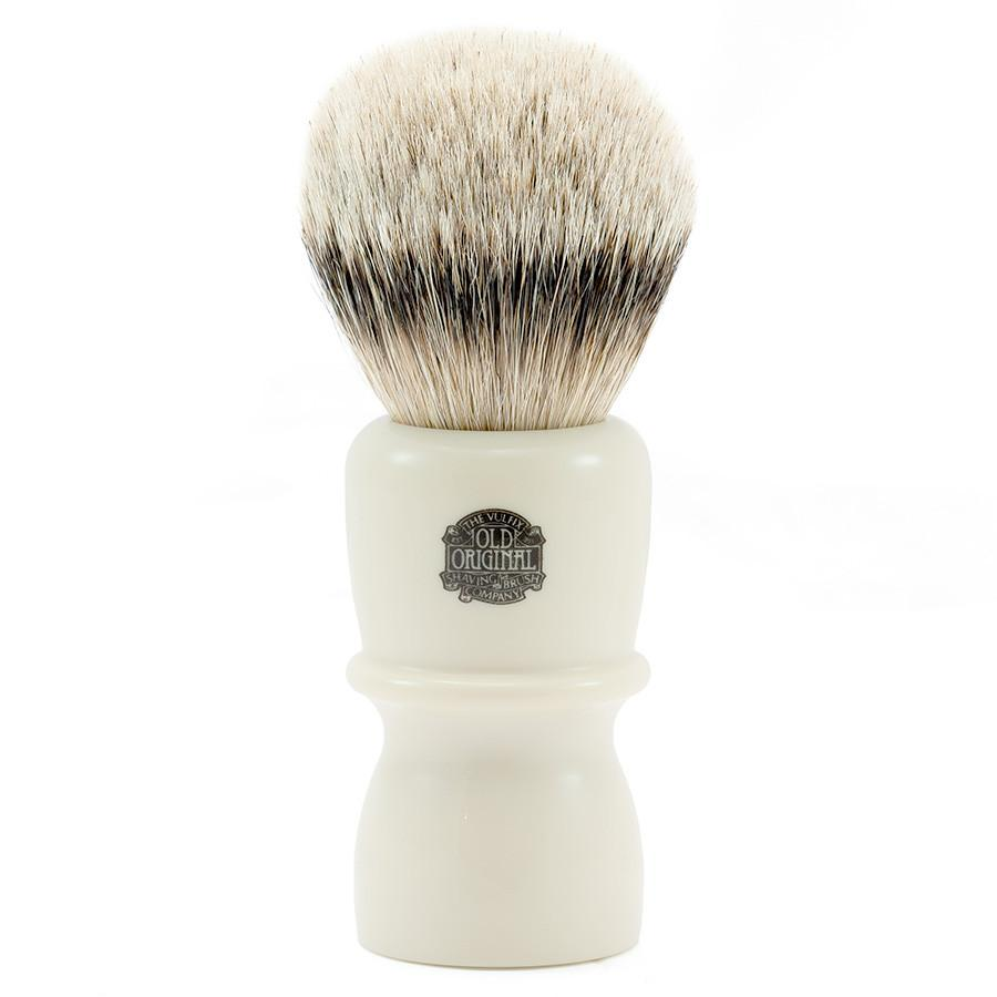 Vulfix 40S Super Badger Shaving Brush, Extra Large Badger Bristles Shaving Brush Vulfix