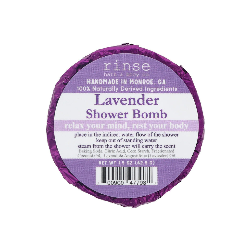 Rinse Bath & Body Co. Shower Bomb Bath Bombs Rinse Bath & Body Co Lavender