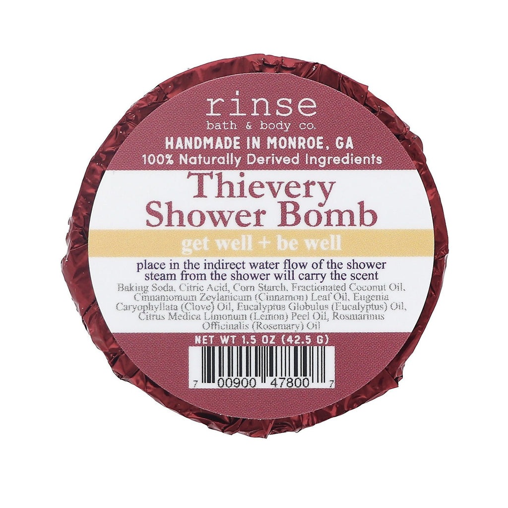 Rinse Bath & Body Co. Shower Bomb Bath Bombs Rinse Bath & Body Co Thievery