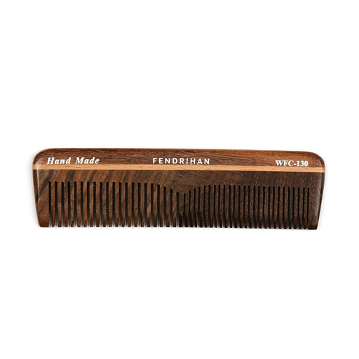 Fendrihan Wooden Double-Tooth Pocket Comb